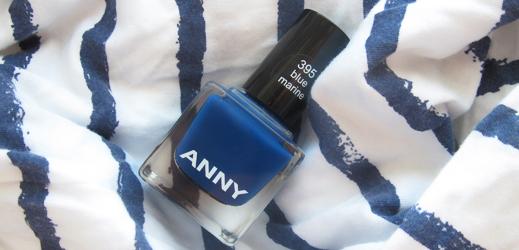 Лак Blue Marine от ANNY + сравнение синих лаков