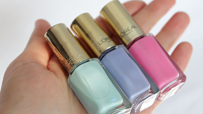 Лаки Color Riche 215, 507, 601 от L'oreal