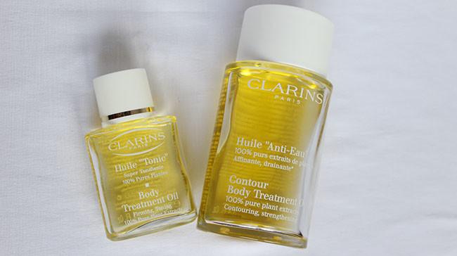 Антицеллюлитное масло Clarins и LeviSilk